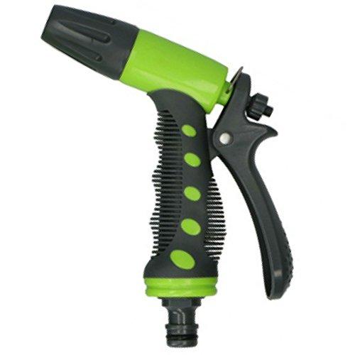 Eurosell Einstellbare Spritzdüse Spritz Pistole Handbrause Gartenbrause mit Nebelstrahl Düse Spritzdüse für Gartenschlauch Spritzpistole
