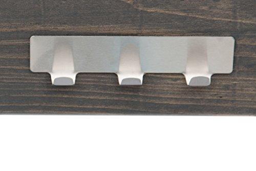 myowngreen Pflanztisch in pinienbraun 80 x 40 x 92 cm (L x B x H) aus massiven Holz vormontiert mit 2 Ablagen und verzinkter Arbeitsfläche – wetterfest für Terrasse, Balkon Gartentisch aus