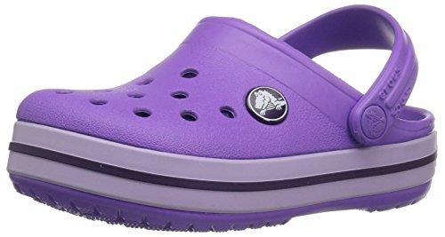 crocs Crocband Clog Kids, Unisex-Kinder Clogs, Violett (Purple), 28/29 - 510-schuhe