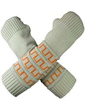 Musterbrand Zelda Armcuffs Unisex Hyrule Arm Sleeves Warmer Knit Thumbholes Light Green