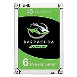 Seagate ST6000DM003 Barracuda 6 TB interne Desktop Festplatte (8,89 cm (3,5 Zoll) 5400 rpm, Sata 6 Gb/s)