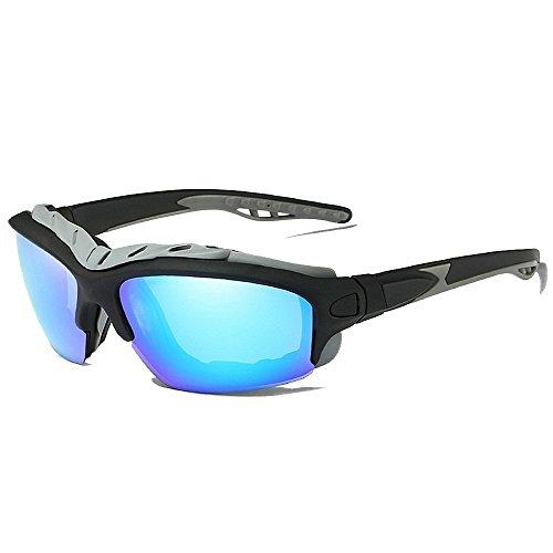 Sport-Sonnenbrillen Sport im Freien Large Size Full Frame Herren Polarisierte Sonnenbrillen Fahren Reisen Baseball Tennis Langlebige Brille UV400-Schutz Fahren Reiten Laufen Angeln Golf UV-S