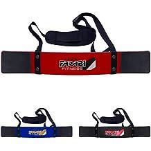Farabi Fitness - Banda para los bíceps, para levantamiento de peso, color rojo