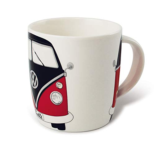 VW Collection by BRISA Tasse VW T1 - Rouge/Noir