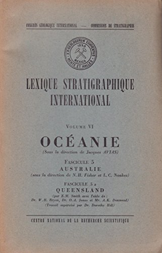 Océanie, Australie, Queensland - Lexique stratigraphique international, volume VI, fascicule 5 & 5a