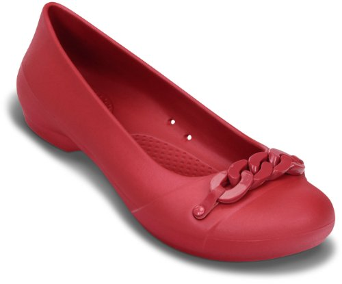 Crocs , Ballerines pour femme - - Dark Red/Dark Red