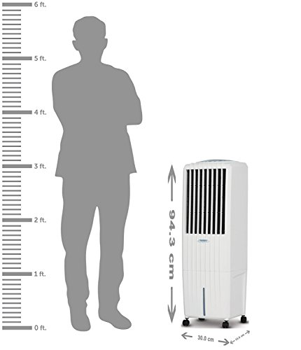 Symphony Diet 22i 22-Litre  Air Cooler with Remote (White)-For small room