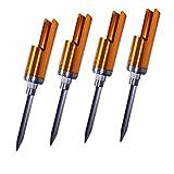 Croch Angelrute Pole-Halter Aluminiumlegierung Rutenhalter Angelrutenhalter Grundrutenhalter Angelruten Halter