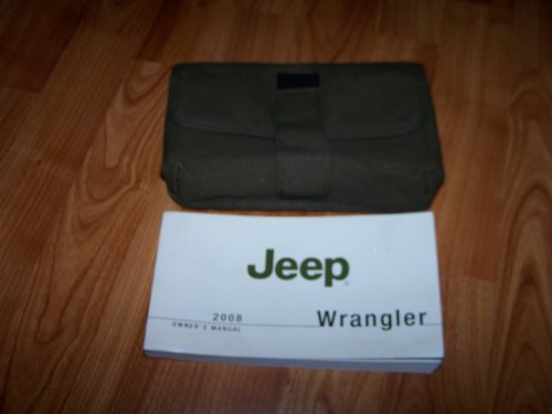 2008 Jeep Wrangler Owners Manual