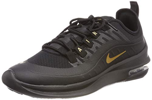 hot sale online 97db9 847bd Nike Air Max Axis Chaussures de Running Femme, Multicolore (Black Metallic  Gold 007)