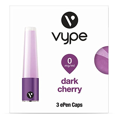 Vype ePen Caps Dark Cherry 3er Pack | e-Liquid | ohne Nikotin