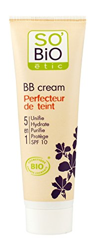 So'Bio Étic, BB Cream 5 in 1, 01 Beige Nude, 30 ml, 2 pz.