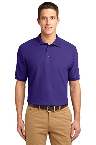 Port Authority® Silk Touch™ Polo. K500 Purple XS