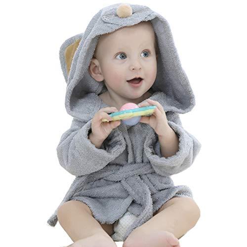 Albornoz de baño niños niñas chicos toalla de baño bebé toalla de baño con capucha Poncho vestido...