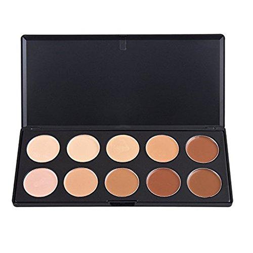 TININNA 10 Couleurs Correcteur Palette Kit Tininna Camouflage Maquillage Complet Couverture Crème Correcteurs