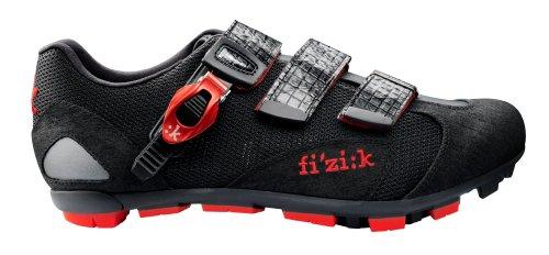 Fizik scarpa da M5uomo mountain bike Black / Red