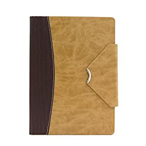 Open covers - Open Covers, étui/housse, pour Ipad Air 1, aspect cuir, marron/beige, modèle Tab Xico