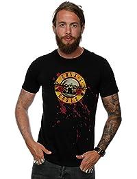 Guns N Roses Homme Blood Splatter T-Shirt XXX-Large Noir