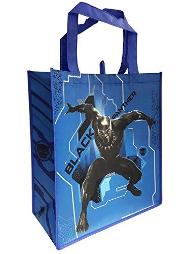 Black Panther Marvel Wiederverwendbare Einkaufstasche Einkaufstasche aus Kunststoff Schwarz -