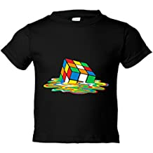 Camiseta niño Cubo de Rubik derretido
