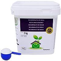 Bicarbonate de Soude NortemBio 3 Kg, Intrant de la Production biologique, Qualité Supérieure, 100% Naturel. Développé en France.