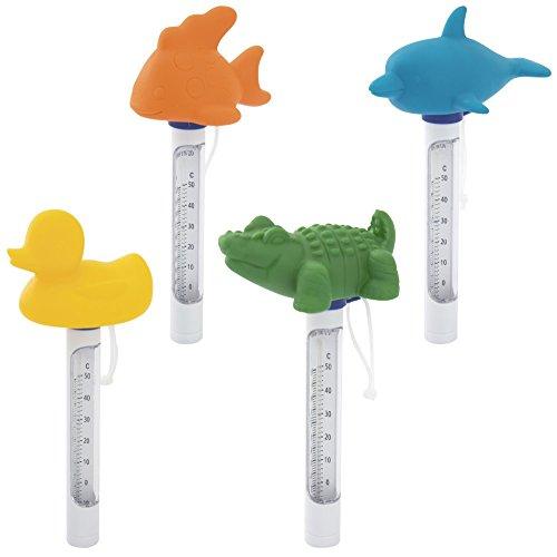 Bestway Flowclear Pool-Thermometer Wassertiere, sortiert