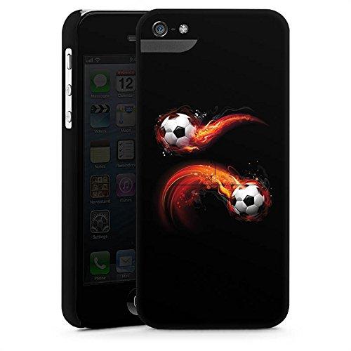 Apple iPhone 6 Plus Silikon Hülle Case Schutzhülle Fußball Sport Ball Premium Case StandUp