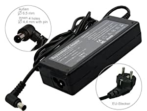 75W chargeur adaptateur AC Adapter ordinateur portable pour: Sony Vaio E Serie SVE1713A1E E Serie SVE1713A6E E Serie SVE1713Q1E E Serie SVE1713U1E Fit 15 E SVF1532W4EB.G4 Fit 15 SVF1521C2E Fit 15 SVF1521N4E Fit 15 SVF15A1Z2E Fit 15A SVF15N1Z2E Fit 15A SVF15N2E2E. Avec câble d'alimentation standard européen.