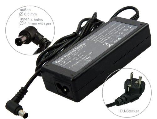 19,5V  Notebook Netzteil AC Adapter Ladegerät für Sony Vaio VGP-AC19V20 VGP-AC19V28 VGN-CS21Z VGN-CS31Z/Q VGN-CR31S /L/P/R/W VGN-CR31SR L/P/W VGN-CR42S/B /L /W VGN-CR42Z/N /R. Mit Euro Stromkabel von e-port24®
