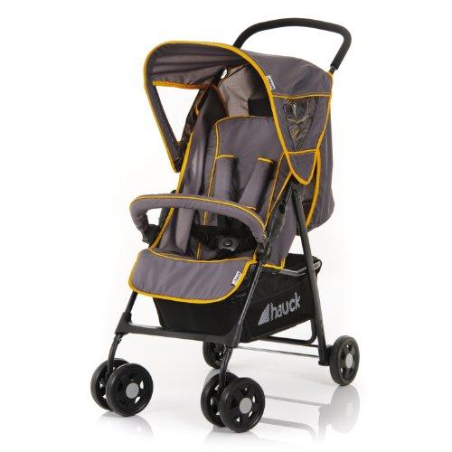 Hauck 171059 Sport SP 12 - Silla de paseo con capota y cesto de la compra, color gris