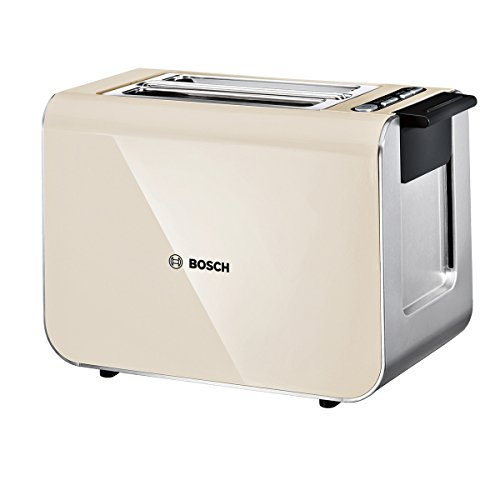 41s7VVOQNIL - BEST BUY #1 Bosch TAT8617GB Styline Toaster, 860 W, Cream Reviews and price compare uk