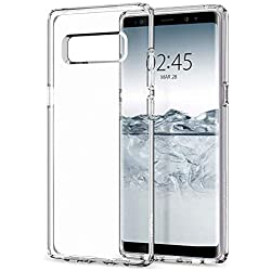 Vkaiy Coque Samsung Galaxy Note 8 [Liquid Crystal] Mince, Légère, [ Ultra Transparente Silicone en Gel TPU Souple ] Coque de Protection-Case pour Samsung Galaxy Note 8 - Crystal Clear