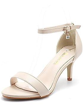 pengweiHebilla de diamantes de imitaci¨®n con una postura elegante con zapatos de tac¨®n alto , 2 , S5.5 / EU36...