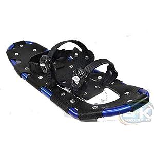 Unbekannt Schneeschuhe Snow Glider ALU mit Tragetasche Schuhgröße 38 bis 47