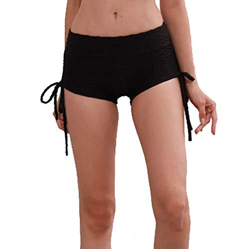 Große Hohe Activewear (DDKK Damen Laufshorts aus Baumwolle, legal, für große Frauen, Sport, Yoga, Fitness, Fitness, Laufen, Sport-Hosen XXXL grau)