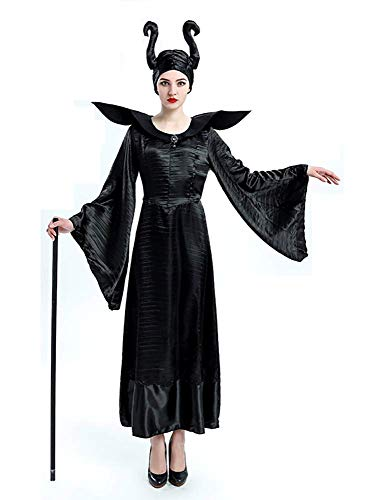 Inception pro infinite Größe XL - Kostüm Bad Witch Maleficent Dornröschen Frau Mädchen Crossdressing Karneval Halloween Cosplay Zubehör