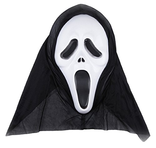 EOZY Halloween Scream Horrormaske Ghost Kostüm Party Type 1