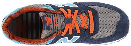 New Balance KL574, Sneakers basses fille - Blau-Dunkelblau-Grau