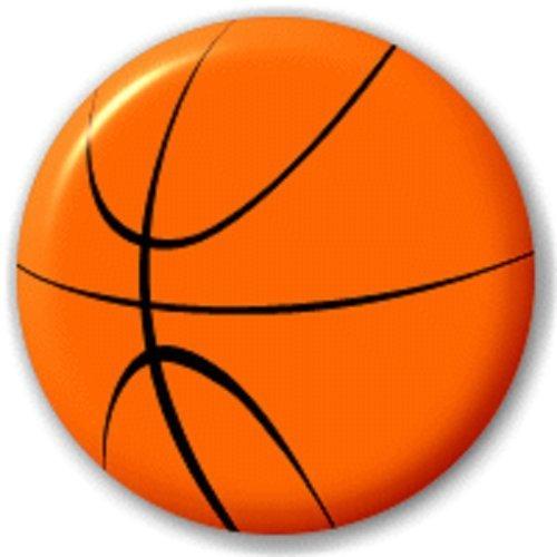 IN KNOPF-ABZEICHEN (Basketball-brosche)