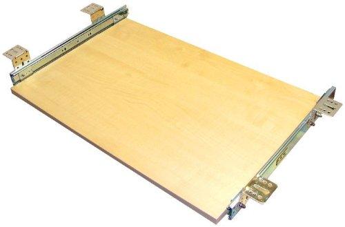 EisenRon Tastaturauszug in Ahorn Dekor und 4 Größen bis 30kg Schreibtischauszug neu 60x30cm - Standart Höhe