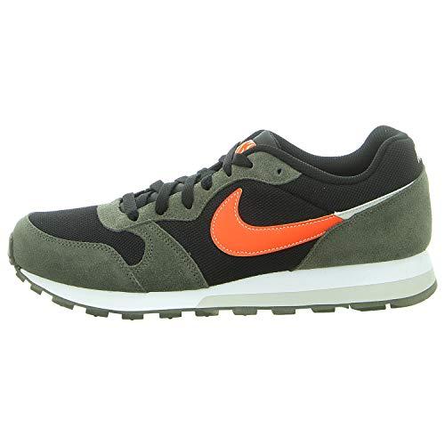 Team 2 Schuhe (Nike Herren MD Runner 2 ES1 Traillaufschuhe, Mehrfarbig (Black/Team Orange-Cargo Khaki-Light Bone 003), 44 EU)