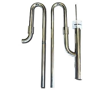 Aqua Medic flow kit Edelstahl Anschluss-Set für Außenfilter (Saug- und Druckseite)