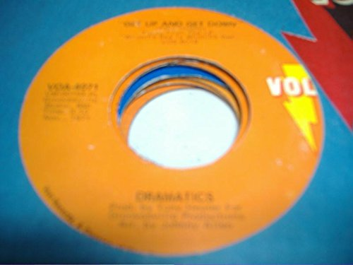 HOT SAUCE 45 RPM Get Up and Get Down / Fall In Love, Lady Love (Volt-fall)