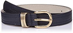 Lino Perros Womens Belt (LWBE00465BLUE_95)