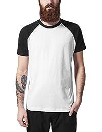 Urban Classics Raglan Contrast Tee, T-Shirt Homme