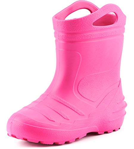 Ladeheid Children´s EVA Extra Light Wellington Boots Rainy Wellies Rain Boots KL051