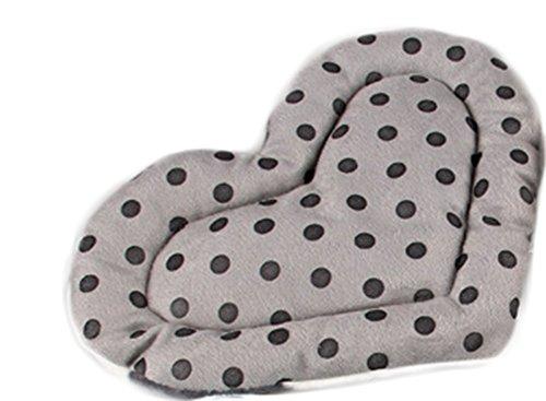 Dylandy Hamster Bett Schlafen Bett Hamster mit Hamster-Matte mit Herz-Hamster-Decke für Meerschweinchen Kaninchen kleine Haustiere (beige), für den Winter -