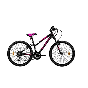 """41s7fGG2h7L. SS300 Atala Modello 2020 Mountain Bike Race Comp 24"""", Colore Nero - Fuxia Misura Unica 33"""
