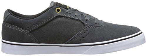 Emerica The Herman G6 Vulc Herren Skateboardschuhe Dark Grey/White