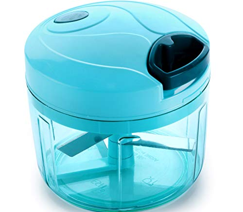 Ganesh Chopper Vegetable Cutter, Blue (725 ml)